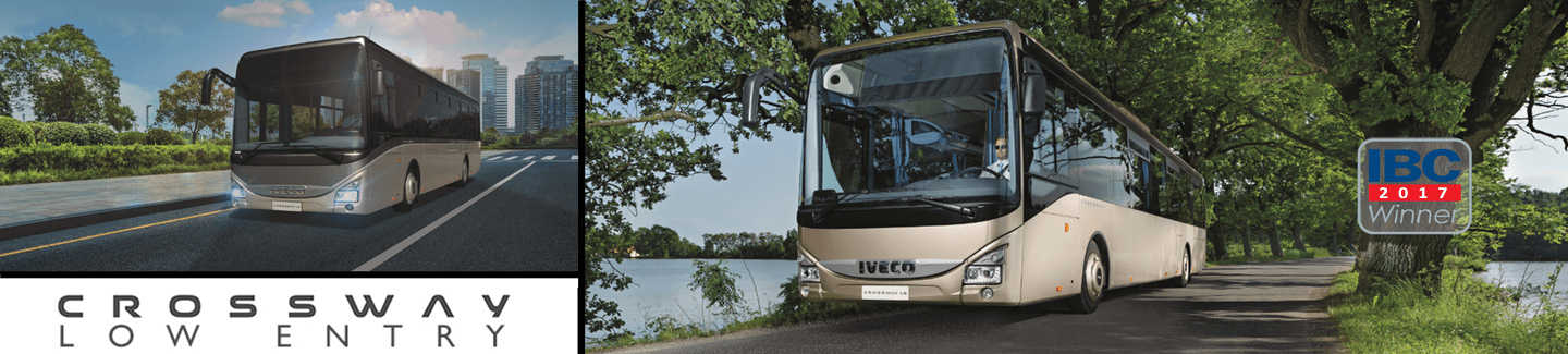 iveco bus crossway low entry